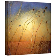 "ArtWall 'Texas Sand Storm' Gallery-Wrapped Canvas 18"" x 18"" (0uhl039a1818w)"