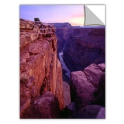 "ArtWall 'Tuweep Overlook' Art Appeelz Removable Wall Art Graphic 36"" x 48"" (0uhl043a3648p)"