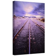 "ArtWall 'Vanishing Point Arizona' Gallery-Wrapped Canvas 36"" x 48"" (0uhl067a3648w)"