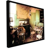 "ArtWall 'Ghost Kitchen' Gallery-Wrapped Canvas 24"" x 32"" Floater-Framed (0uhl075a2432f)"