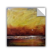 "ArtWall ""Drama Sea"" Art Appeelz Removable Wall Art Graphic 24"" x 24"" (0gro009a2424p)"