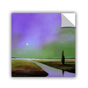 "ArtWall 'Violet Light 2' Art Appeelz Removable Wall Art Graphic 18"" x 18"" (0gro054a1818p)"
