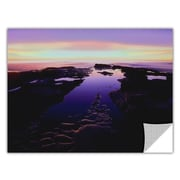 """ArtWall """"Low Tide Afterglow"""" Art Appeelz Removable Wall Art Graphic 18"""" x 24"""" (0uhl113a1824p)"""