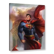 "ArtWall 'Man Of Steel' Gallery-Wrapped Canvas 24"" x 32"" (0goa009a2432w)"