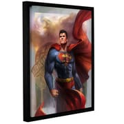 "ArtWall ""Man Of Steel"" Gallery-Wrapped Canvas 14"" x 18"" Floater-Framed (0goa009a1418f)"