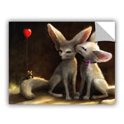 """ArtWall 'Sweet Nothings' Art Appeelz Removable Wall Art Graphic 18"""" x 24"""" (0goa020a1824p)"""