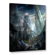 """ArtWall """"Industrialize"""" Gallery-Wrapped Canvas 18"""" x 24"""" (0str011a1824w)"""