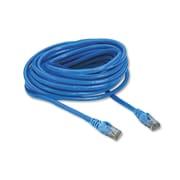 Belkin® CAT6 UTP Computer Patch Cable, 25 ft, Blue (A3L98025BLUS)