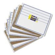 "Chenille Kraft® Creativity Street® Dry Erase Student Boards, Blue/White, 9"" X 12"" (9882-10)"