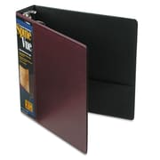 Cardinal® Spine Vue® Locking Round Ring Binder, 11 x 8 1/2, View Binders, Each (16858)