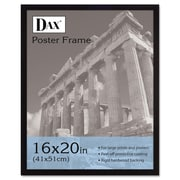 DAX® Flat Face Poster Frame, Wood, 16 x 20, Black, Each (2860V2X)