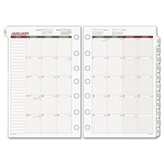 Day Runner® Monthly Planning Pages, 8 1/2 x 11 (068-685Y-09)