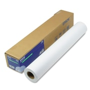 "Epson® Double Weight Matte Paper, White, 24""(W) x 82'(L), 1/Roll"