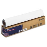 "Epson® Enhanced Adhesive Synthetic Paper, Matte, 24"" x 100 ft, White, 100/Roll (S041617)"