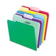 Pendaflex® File Folders with InfoPocket®, Letter, Assorted, 30/Pack (02086)