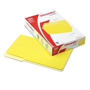 Pendaflex® Interior File Folders, Legal, Yellow, 100/Box (435013YEL)