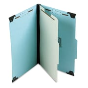 Pendaflex® Hanging Classification Folders with Dividers, Blue, Legal, Each (59351)