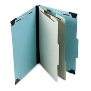 Pendaflex® Hanging Classification Folders with Dividers, Blue, Legal, Each (59352)