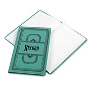"Boorum & Pease® Record and Account Book with Blue Cover, Record and Account, 7.6"" x 12.2"", Blue (66-300-R)"