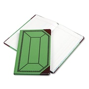 "Boorum & Pease® Journal with Green and Red Cover, Journal, 7.6"" x 12.5"", Green/Red (67 1/8-150-J)"