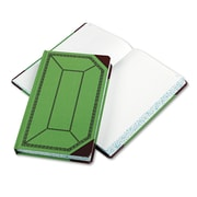 "Boorum & Pease® Record and Account Book with Green and Red Cover, Record and Account, 7.7"" x 12.5"", Green/Red (67 1/8-500-R)"