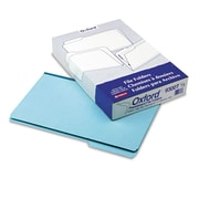 Pendaflex® Pressboard Expanding File Folders, Legal, Blue, 25/Box (9300T-1/3)