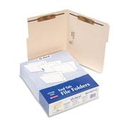 Pendaflex® Manila Folders With Bonded Fasteners, Letter, Manila, 50/Box (M13U13)
