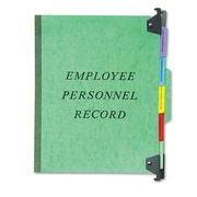 Pendaflex® Personnel Folders, 1/3 Cut Tab, Green, Each (SER-2-GR)