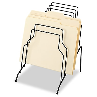 Fellowes®, Wire Step File, 8 Comp, Steel, 10 1/8 x 12 1/8 x 11 3/16, Black, Each (72614)
