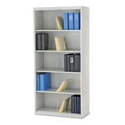 "HON® Brigade® 600 Series Jumbo Open Shelf Files, 36"" x 16 3/4"" x 75 7/8"", Light Gray, Each (J625CNQ)"