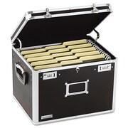 Vaultz® Locking Letter/Legal File Chest, Letter/Legal, Black, Each (VZ01008)