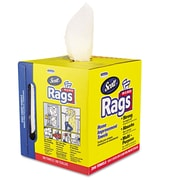 Scott® Rags in Box, 1-Ply, Dry Wipes, White, 200/Roll, 1600/Carton (KCC 75260)