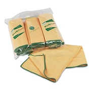 WypAll* Microfiber Cloths with Microban® Protection, Dry Wipes, Yellow, 6/Roll, 24/Carton (KCC 83610)