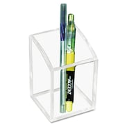 Kantek Pencil Cup, Clear (AD-20)