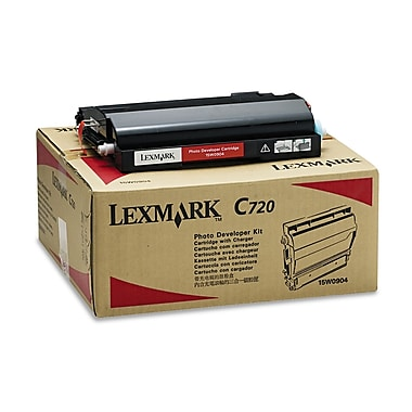 Lexmark™ 15W0904 Photodeveloper Cartridge, 40000 Page-Yield, Black