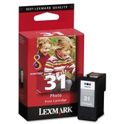 Lexmark™ 18C0031 (31) High-Yield Photo Ink, 475 Page-Yield, Tri-Color