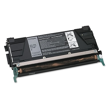 Lexmark™ C5222KS Toner, 4000 Page-Yield, Black