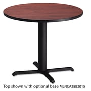"Mayline®, Bistro Series 30"" Round Laminate Table Top, Mahogany (CA30RRMH)"