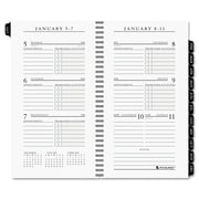 2016, AT-A-GLANCE® Executive® Pocket Size Weekly Planner Refill (70-907-10)