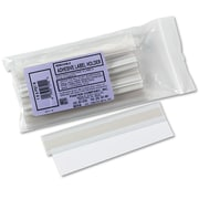 Panter Company Removable Adhesive Label Holders, Plastic, Clear, 10/Pack (PST1R)