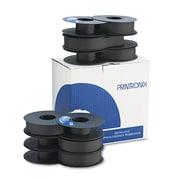 Printronix® 107675007, 107675008 Printer Ribbon, OEM, Black, 6/Pack (107675007)