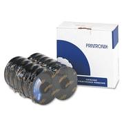 Printronix® 107675007, 107675008 Printer Ribbon, OEM, Black, 6/Pack (107675008)