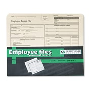 Quality Park™ Employee Record Folder, Straight Cut Tab, Manila, 20/Pack (69998)