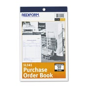 Rediform® Purchase Order Book, 5 1/2 x 7 7/8, Each (1L141)