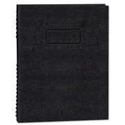 Blueline® EcoLogix® NotePro™ Executive Notebook, Black, 9 1/4 x 7 1/4, Each (A7150EBLK)