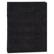 Blueline® EcoLogix® NotePro™ Executive Notebook, Black, 9 1/4 x 7 1/4, Each (A7150EBLK)