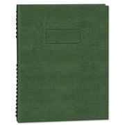 Blueline® EcoLogix® NotePro™ Executive Notebook, Green, 9 1/4 x 7 1/4, Each (A7150EGRN)