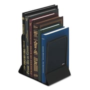 Rolodex™, Mesh Bookends, Steel, 4 3/4 x 5 1/4 x 6 1/2, Steel, Black, 1/Pair (22331ELD)