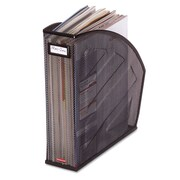 Rolodex™, Standard Rolled Mesh Steel Magazine File, 5 1/2 x 10 3/8 x 11 4/5, Black, Each (62559)