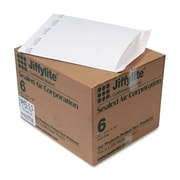 Sealed Air Jiffylite® Self-Seal Bubble Mailer, White, 12 1/2 x 1950/Carton (39262)
